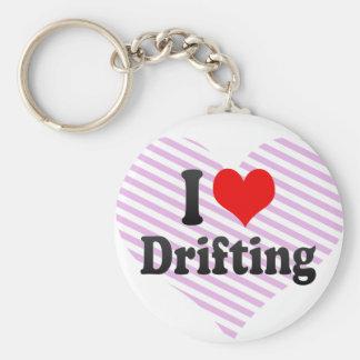 I love Drifting Key Chain