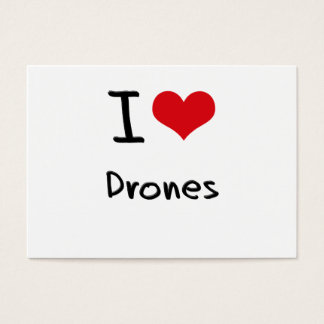 I Love Drones Business Card