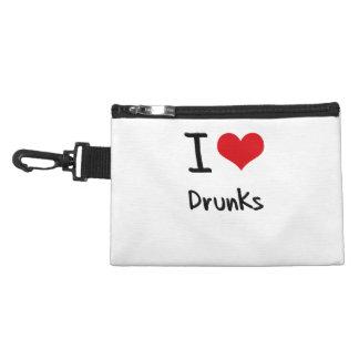 I Love Drunks Accessories Bag