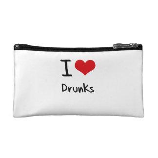 I Love Drunks Makeup Bag