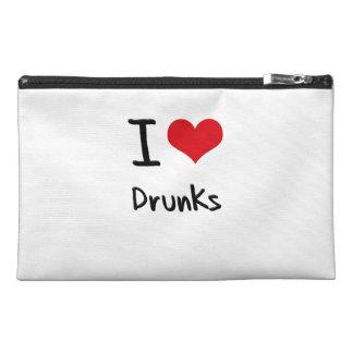 I Love Drunks Travel Accessories Bag
