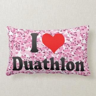 I love Duathlon Pillow