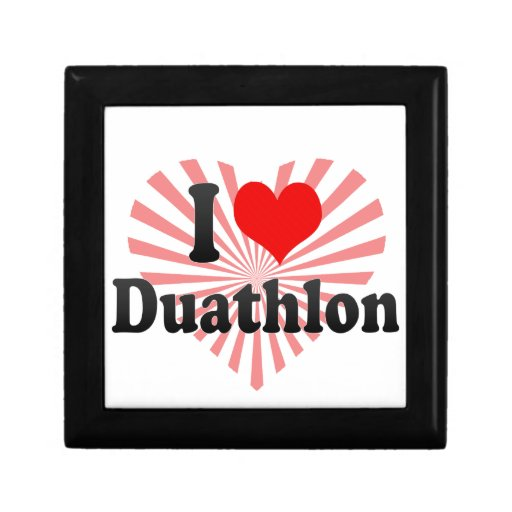 I love Duathlon Jewelry Box