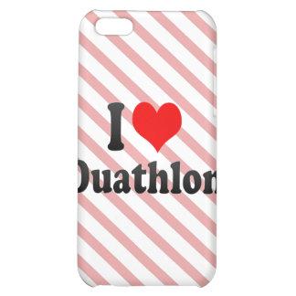 I love Duathlon Case For iPhone 5C