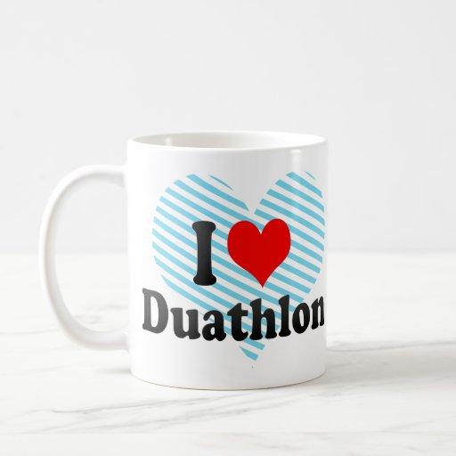 I love Duathlon Mug