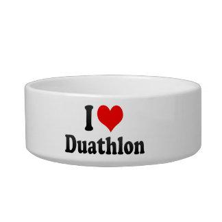I love Duathlon Cat Water Bowls