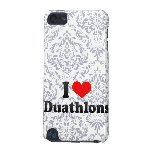 I love Duathlons iPod Touch 5G Covers