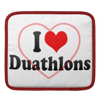 I love Duathlons MacBook Sleeve