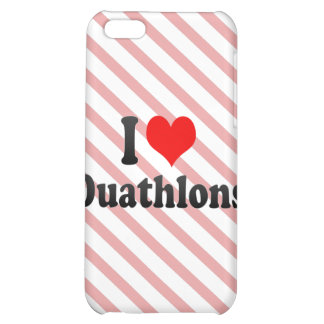 I love Duathlons Case For iPhone 5C