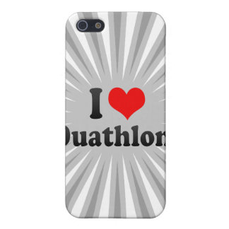 I love Duathlons Cases For iPhone 5