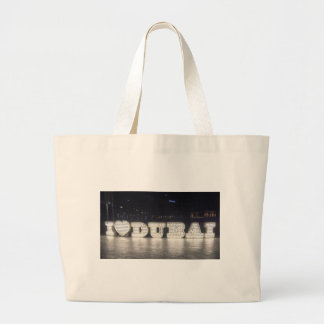 I Love Dubai Large Tote Bag