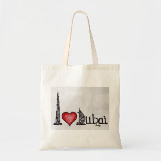 I love Dubai Tote Bag
