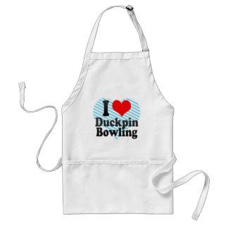 I love Duckpin Bowling Aprons