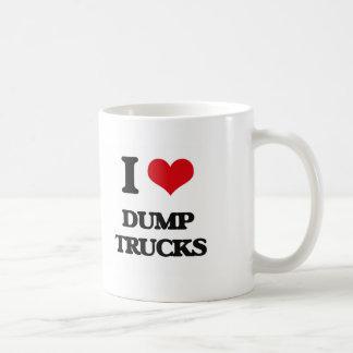 I love Dump Trucks Mug