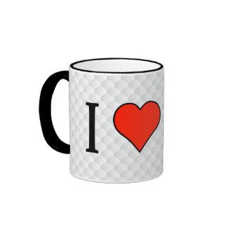 I Love Dump Trucks Ringer Mug