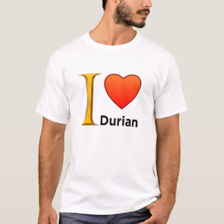 I Love Durian - T-Shirt