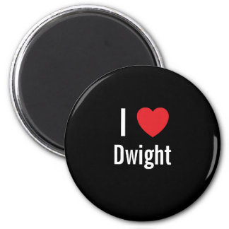 I love Dwight Magnet