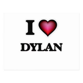 I Love Dylan Postcard