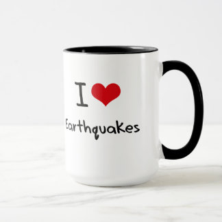 I love Earthquakes Mug