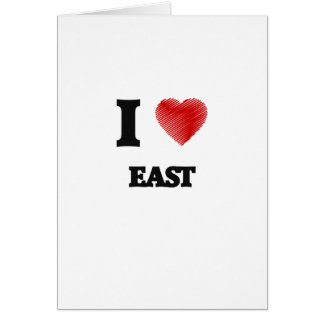 I love EAST Card