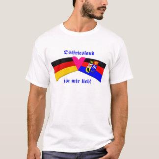 I Love East Friesland / Ostfriesland ist mir lieb T-Shirt