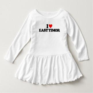 I LOVE EAST TIMOR DRESS