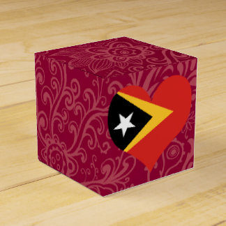 I Love East+Timor Favour Boxes