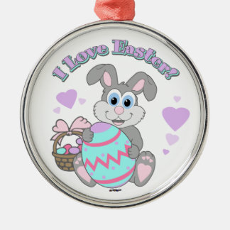 I Love Easter! Easter Bunny Ornament