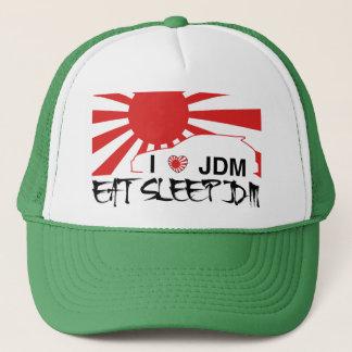 i love eat sleep jdm hat