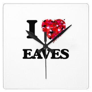 I love EAVES Wallclock