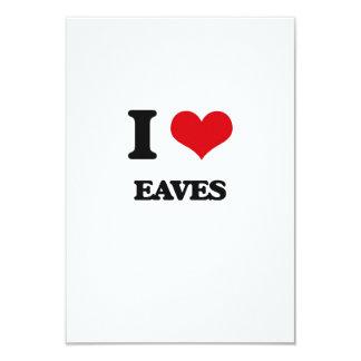"I love EAVES 3.5"" X 5"" Invitation Card"