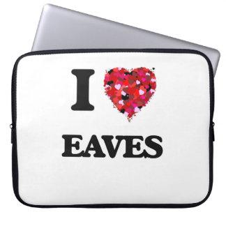 I love EAVES Laptop Computer Sleeves