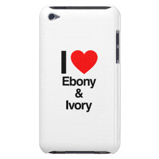 i love ebony and ivory iPod touch cover