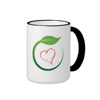 I Love Eco-Green Ringer Mug