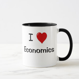 I Love Economics Economics Loves me Mug