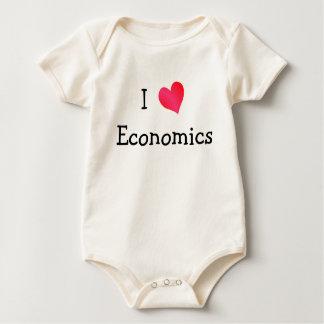 I Love Economics Baby Creeper