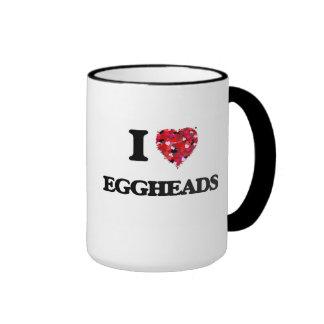 I love EGGHEADS Ringer Mug