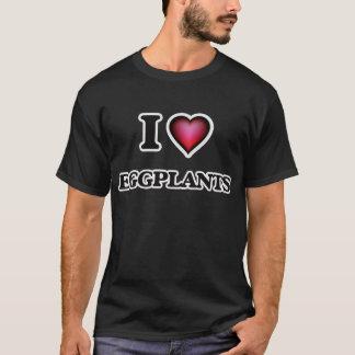 I Love Eggplants T-Shirt