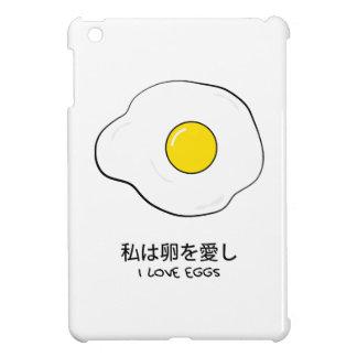 I love eggs iPad mini case