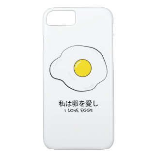 I love eggs iPhone 8/7 case