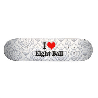 I love Eight Ball Custom Skate Board