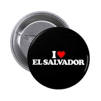 I LOVE EL SALVADOR PINS