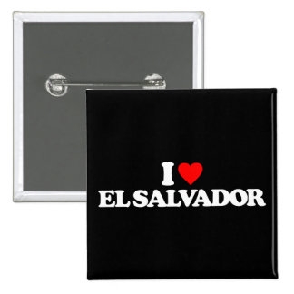 I LOVE EL SALVADOR BUTTONS