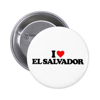 I LOVE EL SALVADOR BUTTON