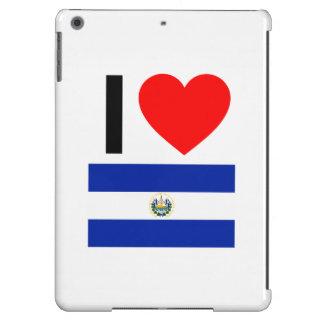 i love el salvador iPad air cases