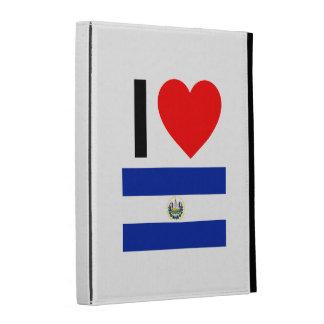 i love el salvador iPad folio covers