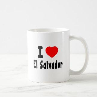 I Love El Salvador. Coffee Mugs