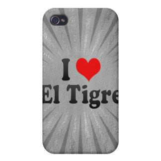 I Love El Tigre, Venezuela iPhone 4/4S Covers