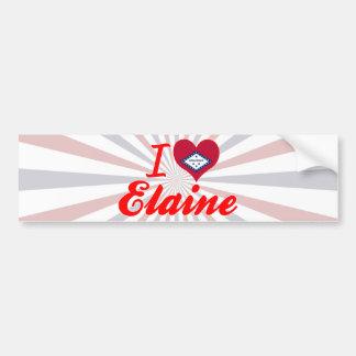 I Love Elaine, Arkansas Bumper Sticker