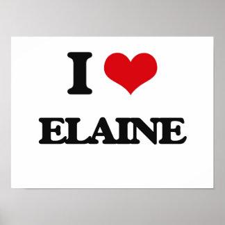 I Love Elaine Poster